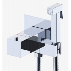Термостатический смеситель с гигиеническим душем Gappo G7207-40