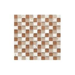 МРАМОР СТЕКЛО мозаика, размер кубика 2,3 x 2,3 см