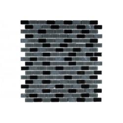 МРАМОР СТЕКЛО мозаика, размер кубика 1,5 x 3 см