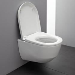 LAUFEN PRO унитаз подвесной Rimless (без ободка), скрытый крепеж + сиденье с крышкой SOFT CLOSE