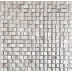 МРАМОР СТЕКЛО мозаика, размер кубика 2 x 2 см