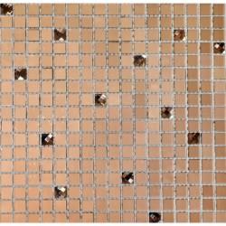 СТЕКЛО мозаика, размер кубика 1,5 x 1,5 см