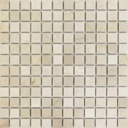 МРАМОР мозаика, размер кубика 2.3*2.3 см